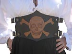 Pirate Stomacher Belt (detail)